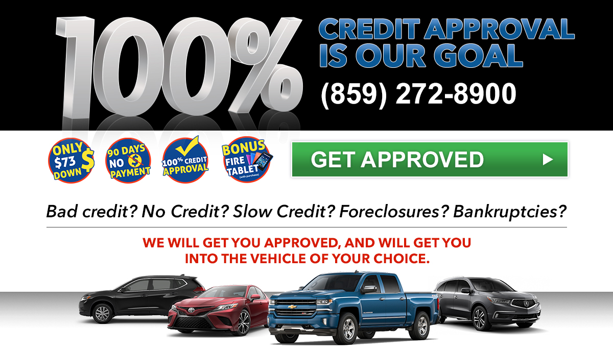 No Credit Car Loans >> 100 Credit Approval