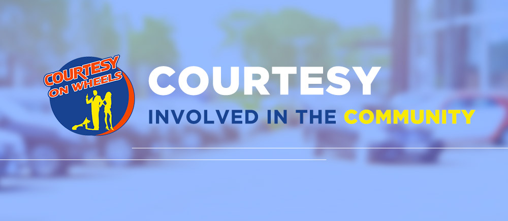 Courtesy on Wheels :: Involved in the Community